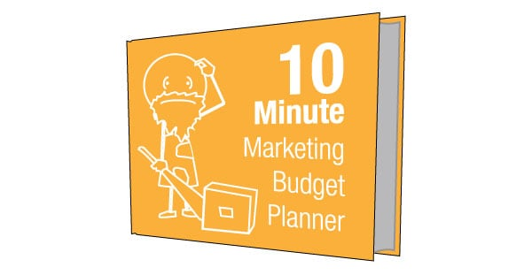 Industrial Marketing 10 Minute Budget Template