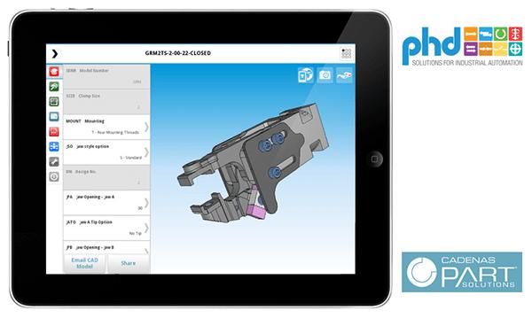 PHD iPad app screenshot 3D CAD App
