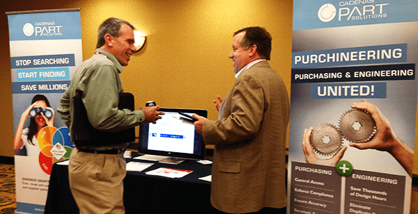 CADENAS PARTsolutions was recently an exhibiting partner at the Siemens PLM Detroit Regional Users Group (RUG).