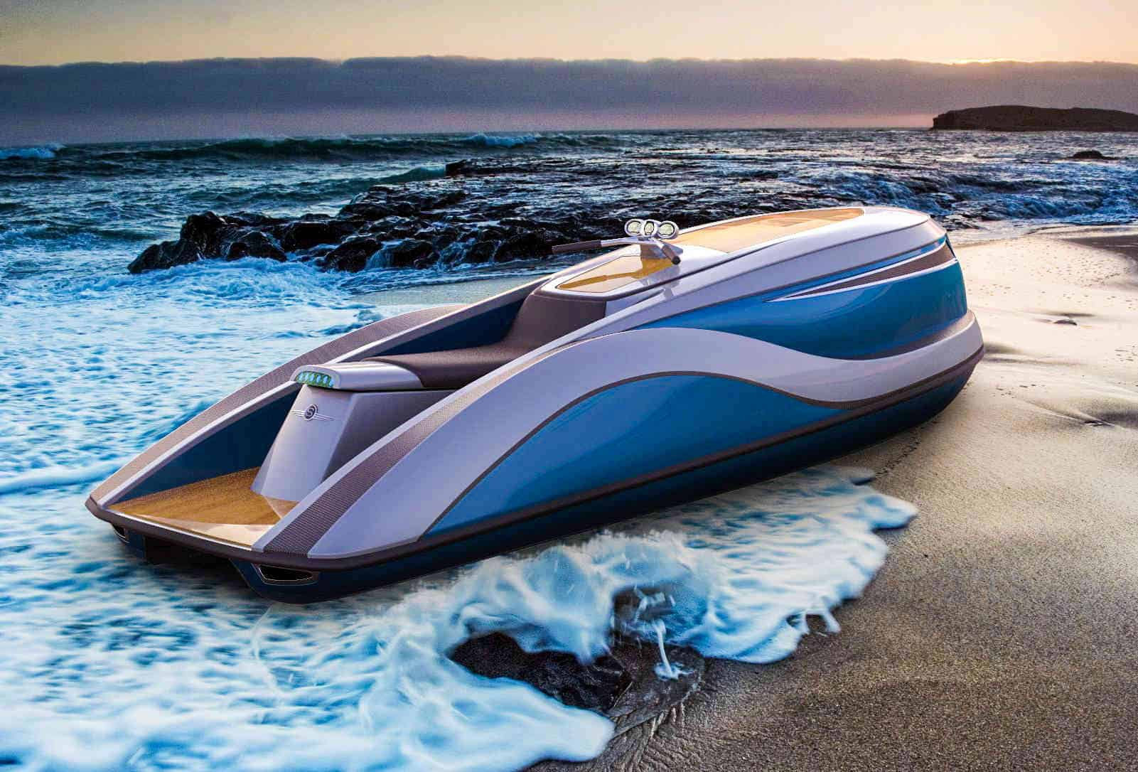 Corvette Jet Ski is Like Riding an Orca with Rabies! The Strand Craft V8 Wet Rod Jet Ski dragster is so ridiculous...you'll wish you had two.