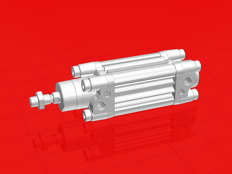 CAD Parts for Download with Norgren Interactive Product Configurator