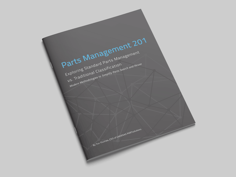 Parts Management 201 Standard Parts Management vs. Traditional Classification
